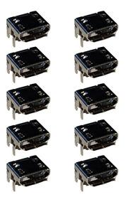 Conector De Carga Caixa De Som Jbl Flip 3 Kit 10 Unidades