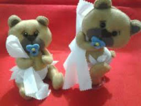 Bonecas ,ursos,bichinhos Em Feltro