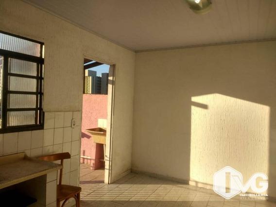 Casa Com 1 Dormitório Para Alugar, 70 M² Por R$ 800,00/mês - Picanco - Guarulhos/sp - Ca1346
