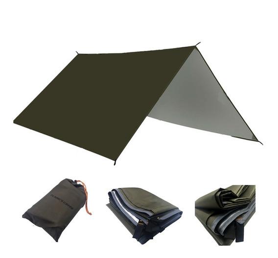Lona Tarp Toldo 3x3 Isolante Termico Bivak Bushcraft Camping