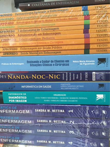 Conjunto De Livros Para Estudantes De Enfermagem