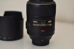 Lente Nikon Af-s Vr Micro-nikkor 105mm F/2.8g
