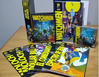 Coleccion Watchmen Libro Revistas Dvd Cd