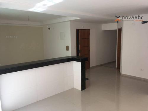 Apartamento À Venda, 104 M² Por R$ 540.000,00 - Vila Metalúrgica - Santo André/sp - Ap0304
