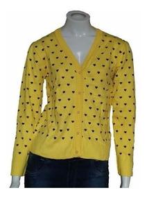 Com10 Blusa De Frio Feminina Cardigan Suéter Lã Trico # B11