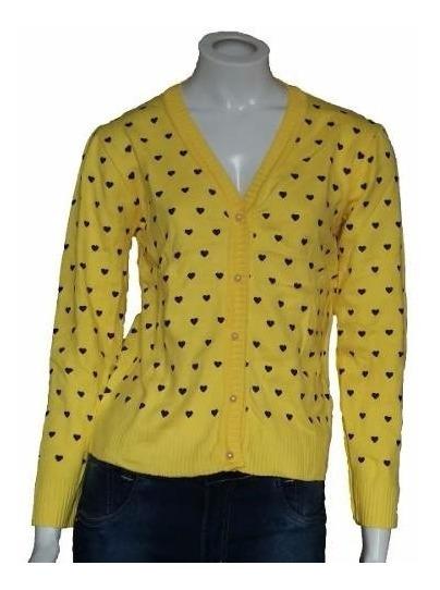 Com10 Blusa De Frio Feminina Cardigan Suéter Lã Trico