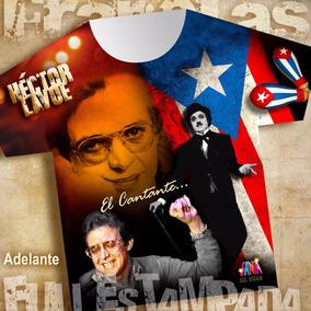 Franelas Hector Lavoe Salsa Sublimadas!!!