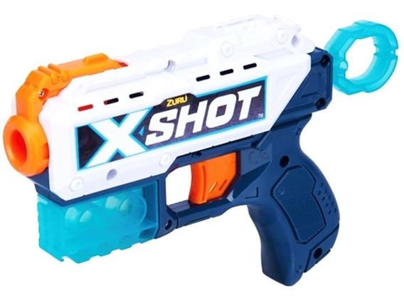 Pistola X-shot Pulse Recoil Lanza 8 Dardos Gratis Juguete