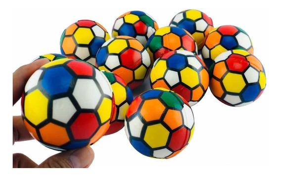 12 Pelota Antiestress Balón Colores Juego Fiesta Piñata