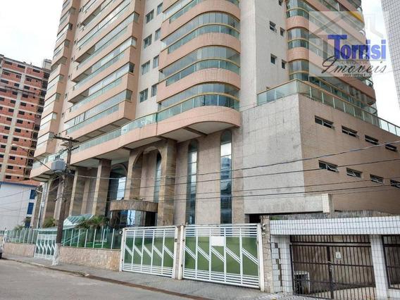 Apartamento Em Praia Grande, 03 Dormitórios Vista Para O Mar , Aviação, Ap2267 - Ap2267