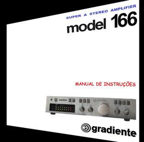 Manual Do Amplificador Gradiente Model 166 (colorido)