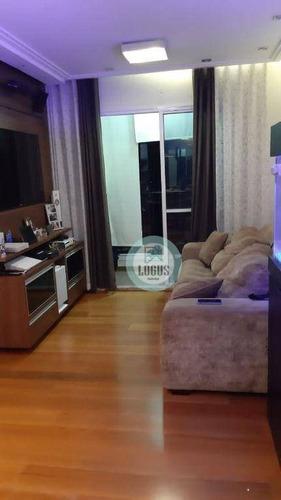Imagem 1 de 23 de Belíssimo Com 3 Dormitórios À Venda Por R$ 430.000 - Nova Petrópolis - São Bernardo Do Campo/sp - Ap1773