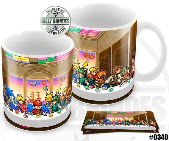 Caneca Personalizada Nintendo Super Mário #0340