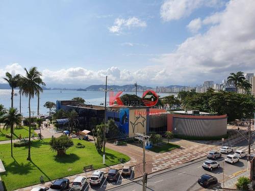 Imagem 1 de 15 de Apartamento Com 3 Dormitórios À Venda, 236 M² Por R$ 1.300.000,00 - Boqueirão - Santos/sp - Ap9394