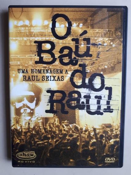 Dvd - O Baú Do Raul - Uma Homenagem A Raul Seixas - Original