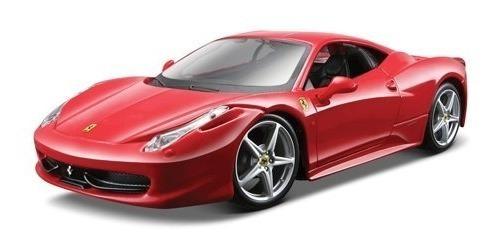 Maisto 1:24 Scale Assembly Line Ferrari 458 Italia Diecast M