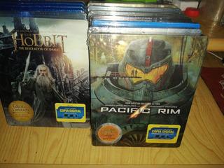 Titanes Del Pacifico ( Pacific Rim) Steelbook 2 Blu-ray+ Dvd