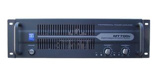 Zkx Mt 700s Potencia 360w X 2 En 2 Ohms Sonido Pa Dj Oferta
