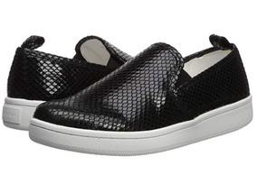 Zapatos Sneakers Calvin Klein Dama Piel Original! 25.5!