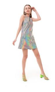 Vestido Ross Hologram Las Pepas
