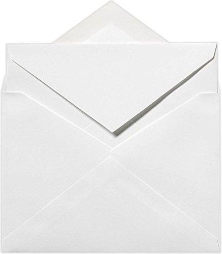 Sobres Externos De 5 1 2 X 7 3 4 - 70 Lb Blanco Brillante (5