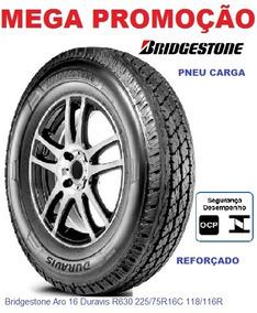 Pneu 225/75r16c Bridgestone Duravis R630 118/116carga 10lona
