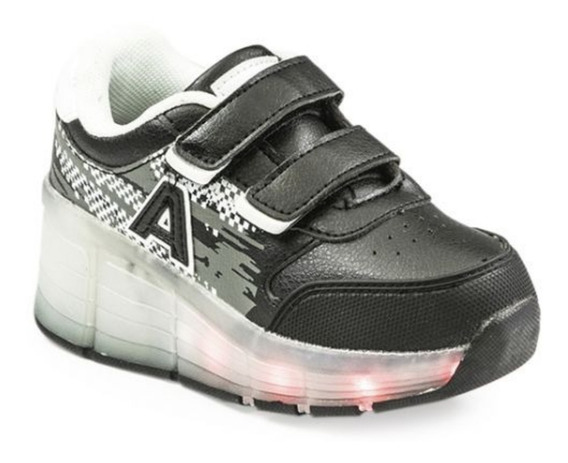Zapatillas Con Ruedas Luces Led Para Patinar Addnice Manias
