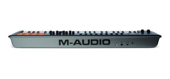 Teclado M-audio Controlador 49 Teclas Midi Usb Oxygen 49 Iv