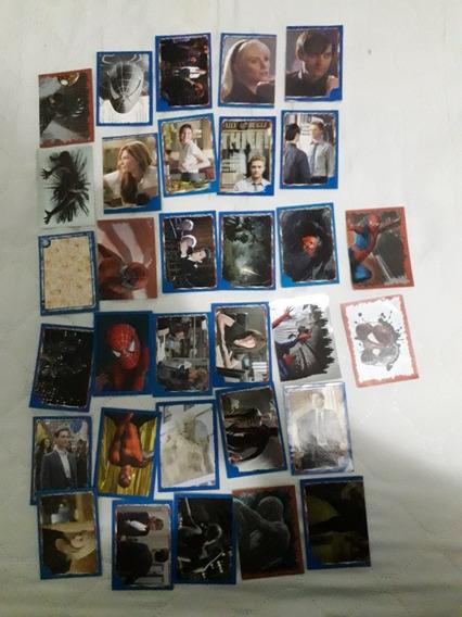 Lote 26 Figurinhas Do Livro Ilustrado Spiderman 3 - Panini
