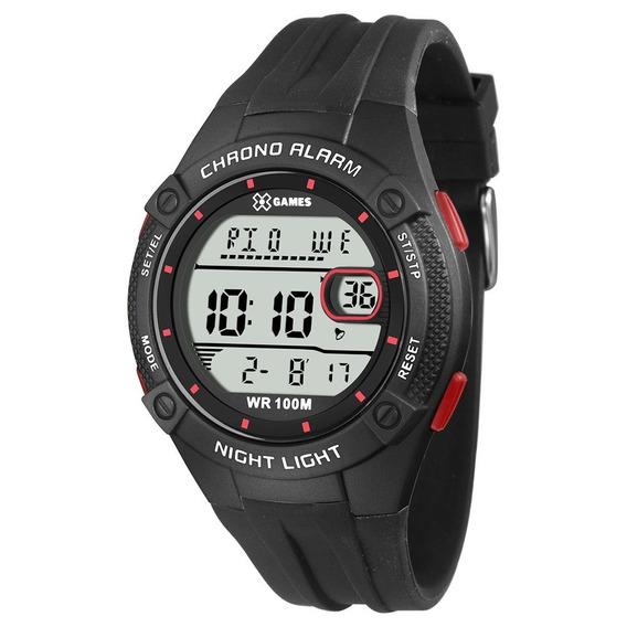 Relógio Masculino Preto Xgames Xmppd446