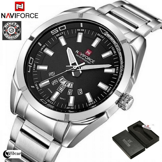 Relógio Naviforce 9038 Aço Inoxidável Original