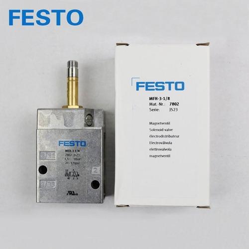 Electrovalvula Festo (original) 7802 Mfh-3-1/8 Nueva!