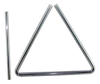 Triángulo Mxp 20cm Metalico Con Golpeador