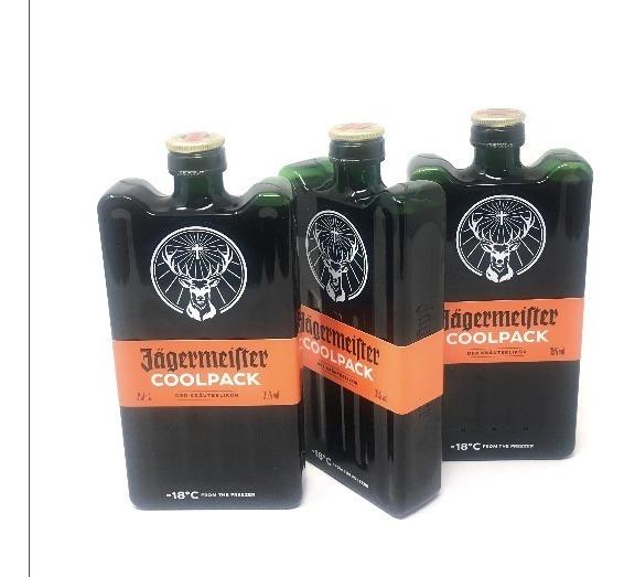 Jägermeister Cool Pack X 3 Unidades - Envío Gratis