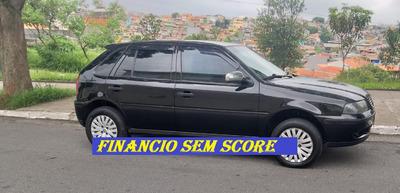 Vw Gol 2002 Baixa Entrada Financio Com Baixo Score