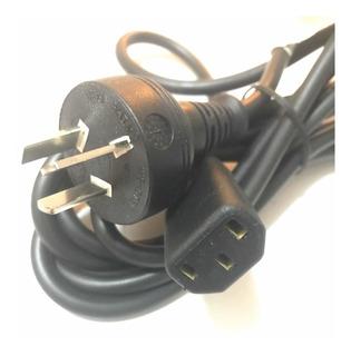 Cable Power Pc Computadora Servidor Impresora 220v, 3 Patas