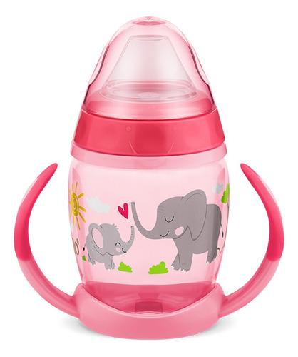 Copo De Treinamento Com Alças 230ml Elefantinho Rosa - Lillo