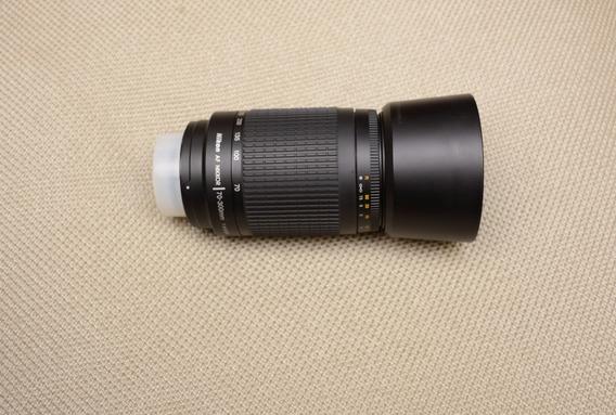 Lente Nikon 70-300mm F/:4.5.6g