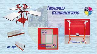 Kit Completo De Serigrafia, Pulpo, Insoladora, Shablones