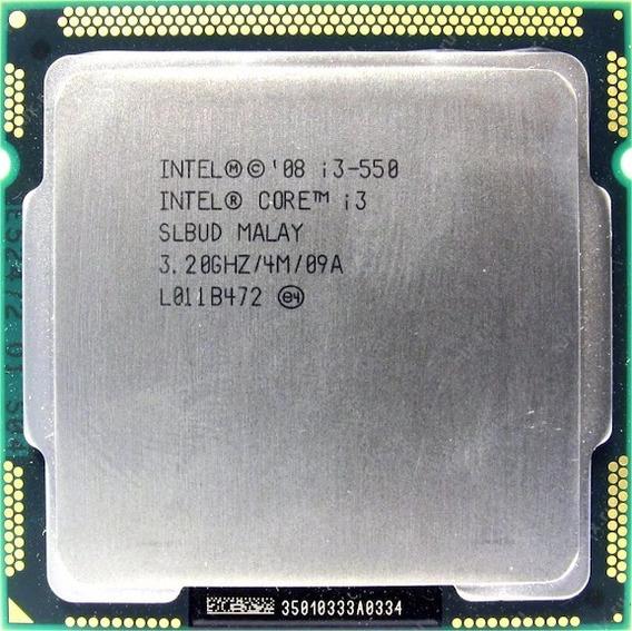 Processador Intel Core I3 550 4m Cache 3.20ghz Lga 1156