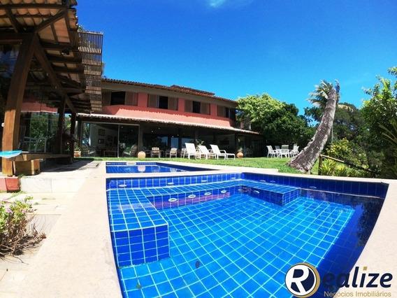Bélissima Casa Triplex De 6 Quartos Exclusiva Pés Na Areia Em Guarapari - Condomínio Aldeia Da Praia - Ca00096 - 34747055