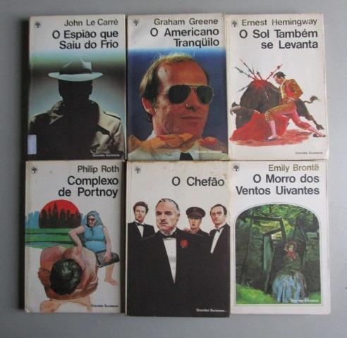 6 Livros - Literatura Estrangeira -grandes Sucessos -lote 3