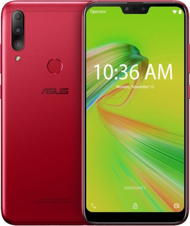 Celular Asus Zenfone Max Shot Vermelho 4gb/64gb Zb634kl