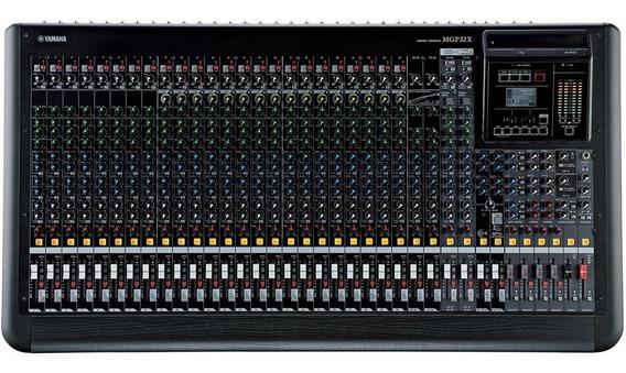 Mesa De Som Yamaha Mgp32x / 32 Canais / Original + Garantia