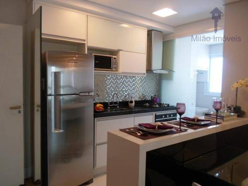 Imagem 1 de 30 de Apartamento 3 Dormitórios À Venda, 77m², Campolim Em Sorocaba/sp - Ap0078