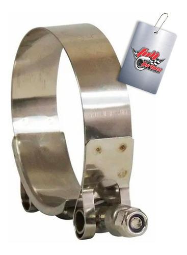 Abraçadeira Tucho 100% Inox T-clamp 70mm X 78mm 2,5 Polegada