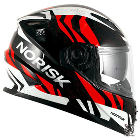 Capacete Norisk Ff302 Jungle C/ Óculos Interno