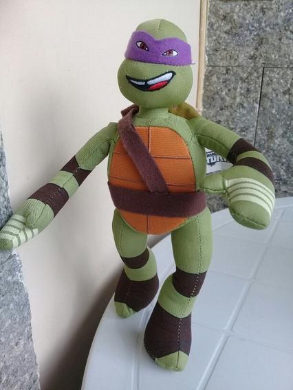 Tartaruga Ninja Viacom - Pelúcia Donattelo Mede 26 Cm