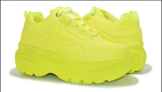 Tênis Sneaker Plataforma Feminino