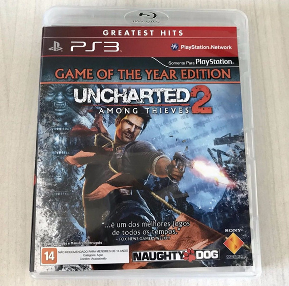 Jogo Uncharted 2 Among Thieves Ps3